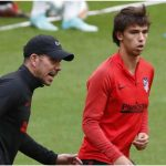 Joao Felix is back training with the group