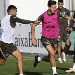 Atletico Madrid rest Suarez and Saul ahead of Moscow trip